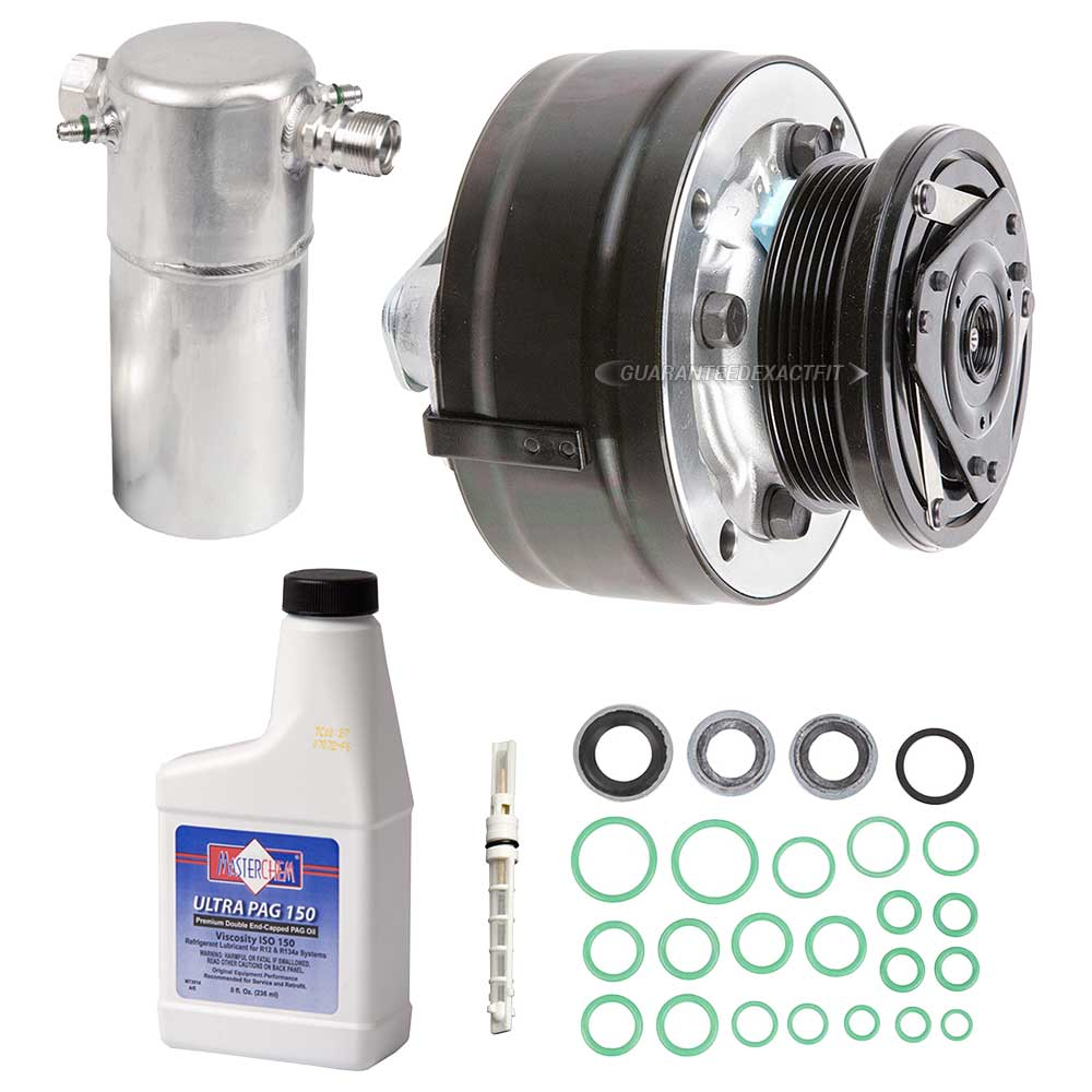 1994 Gmc Sonoma Ac Compressor The Car Store Gtgt 944 2 Climate Control Diagram And Components Kit Oem Aftermarket