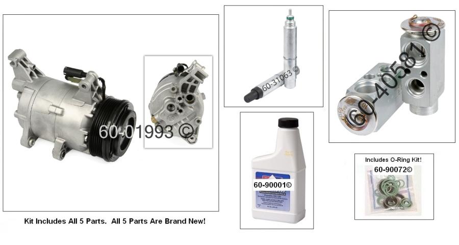 Mini  A/C Compressor and Components Kit
