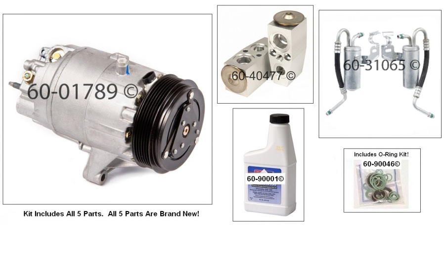 A/C Compressor and Components Kit 60-80379 RK