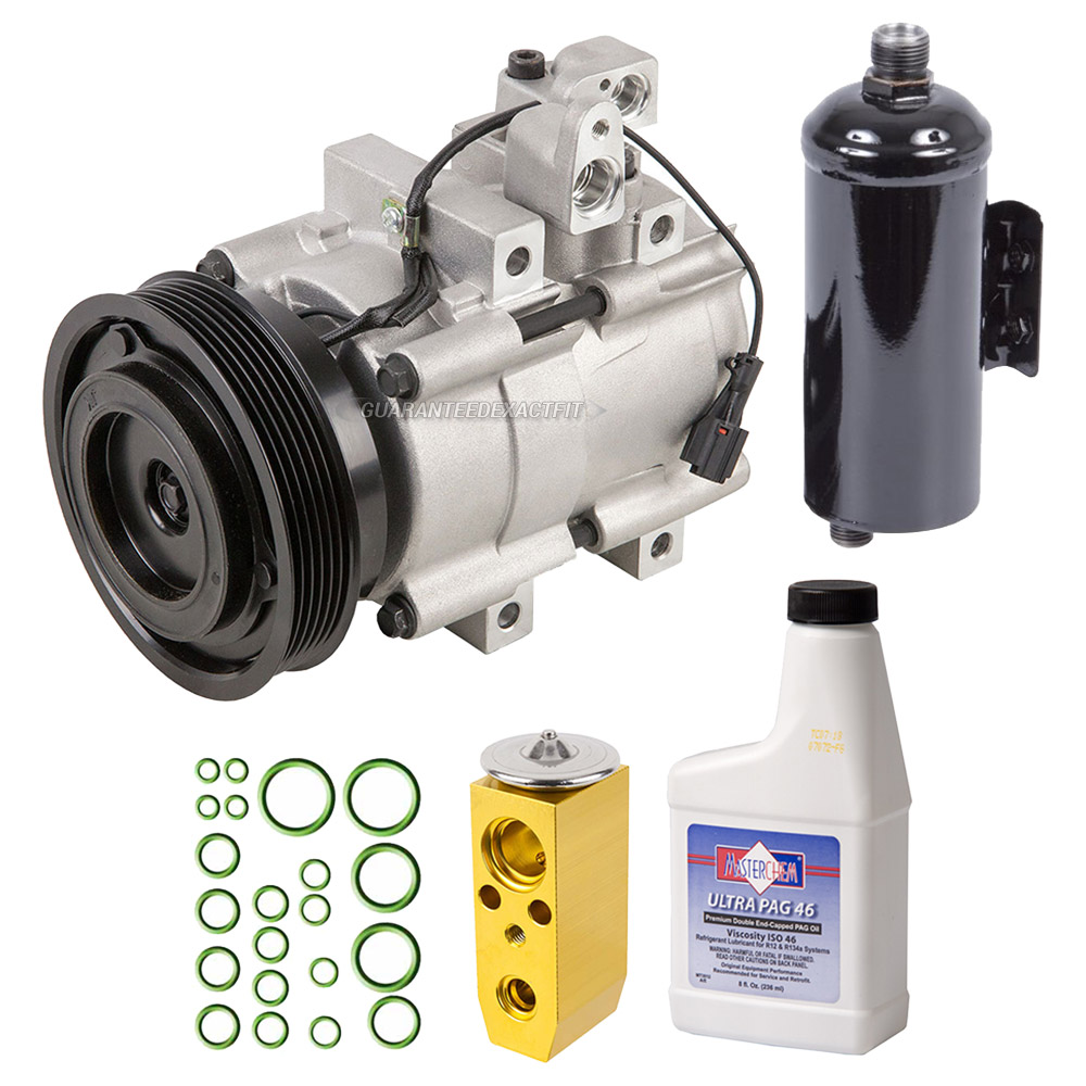Hyundai XG350 A/C Compressor and Components Kit