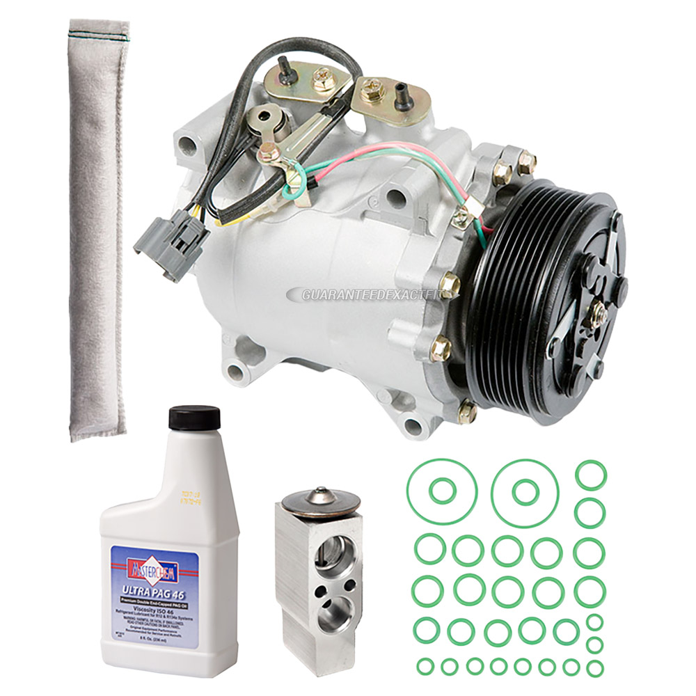 Acura TSX AC Compressor And Components Kit Parts, View