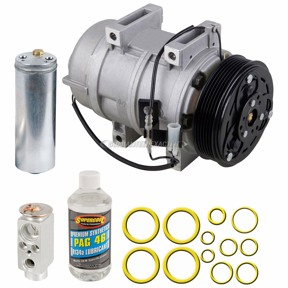 Volvo S80 Ac Compressor And Components Kit Oem
