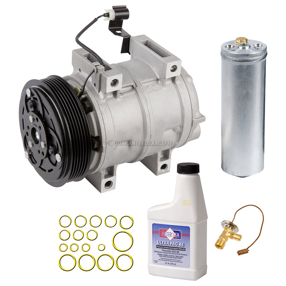 AC Compressor and Components Kits for Volvo S40 2000-2004 and Volvo ...