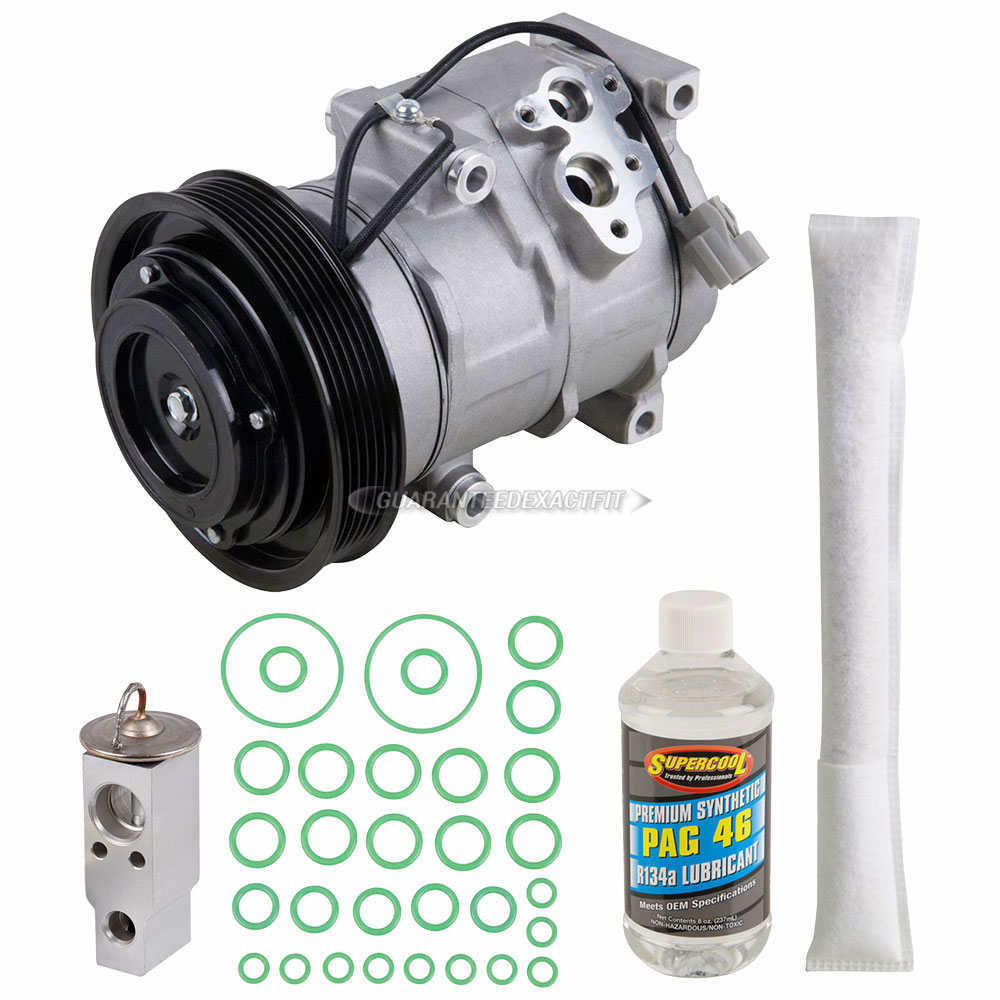 AC Compressor And Components Kits For Acura MDX And Honda - 2003 acura mdx ac compressor