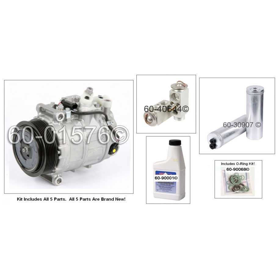 Mercedes_Benz CLS55 AMG A/C Compressor and Components Kit
