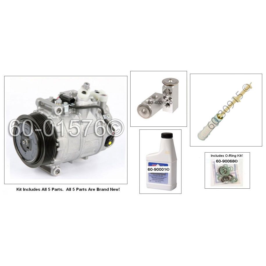 Mercedes_Benz SLK280 A/C Compressor and Components Kit