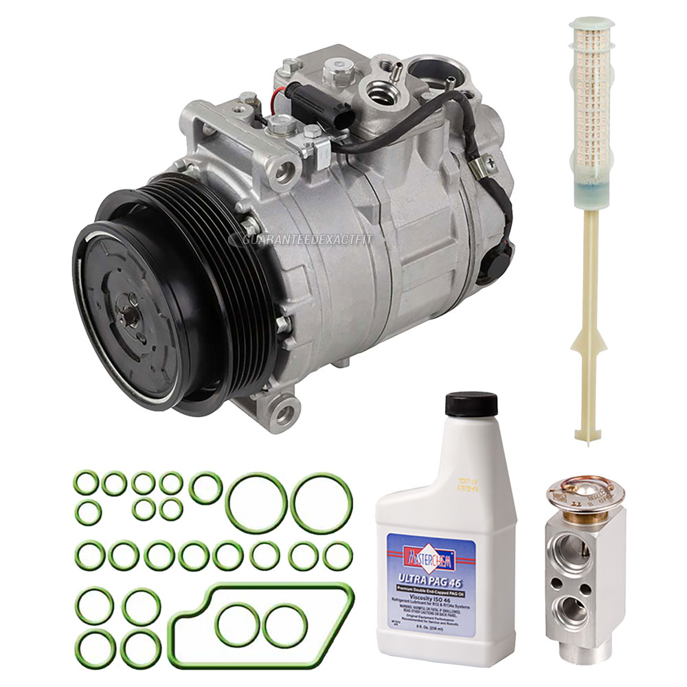 Mercedes Benz SLK280 A/C Compressor and Components Kit