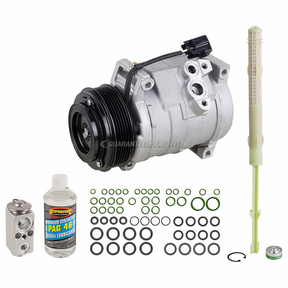 Chevrolet Traverse A/C Compressor and Components Kit