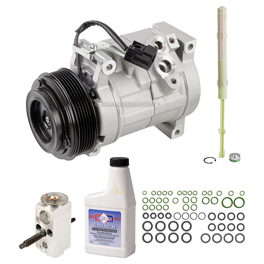 Buick Enclave A/C Compressor and Components Kit