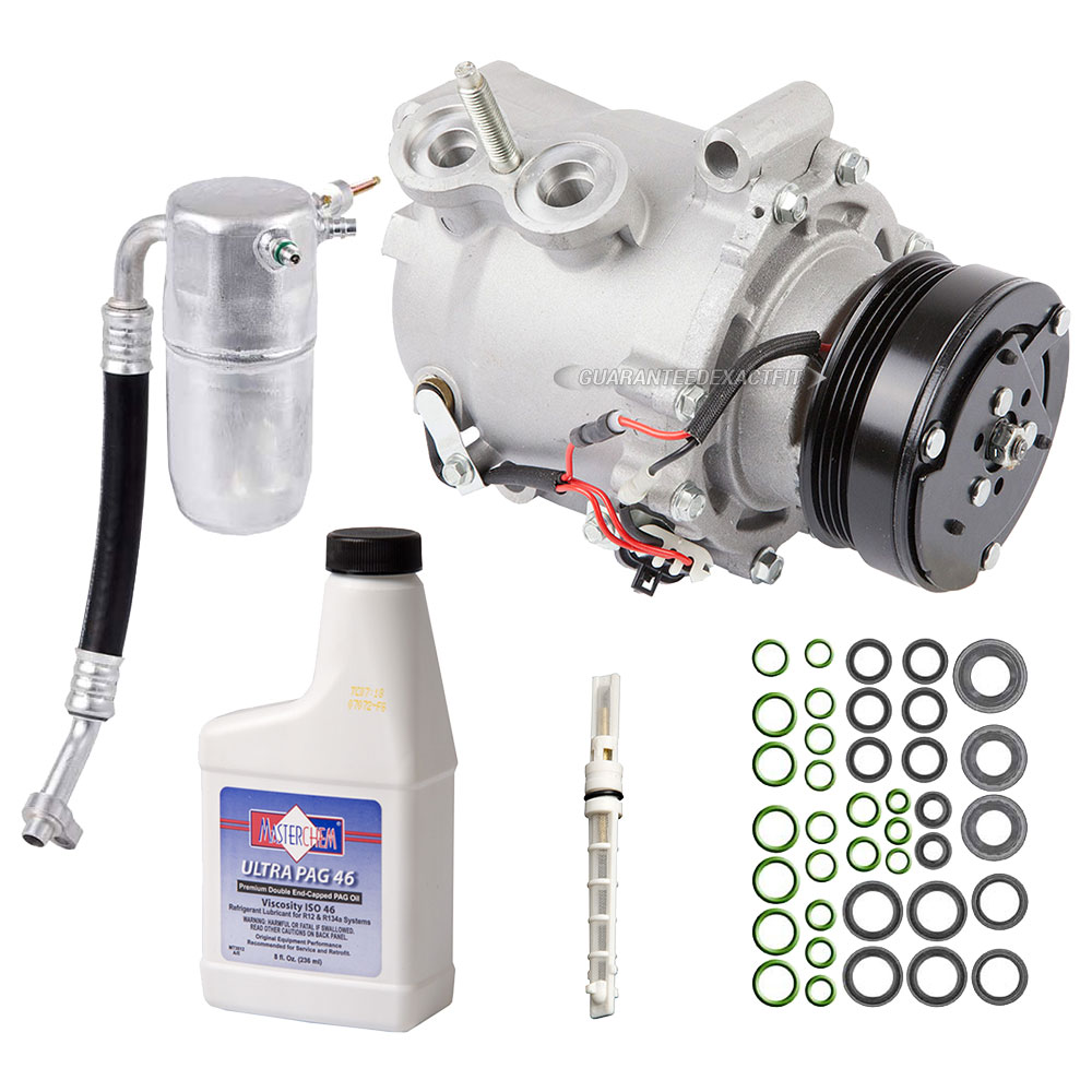 2003 Isuzu Ascender A/C Compressor and Components Kit