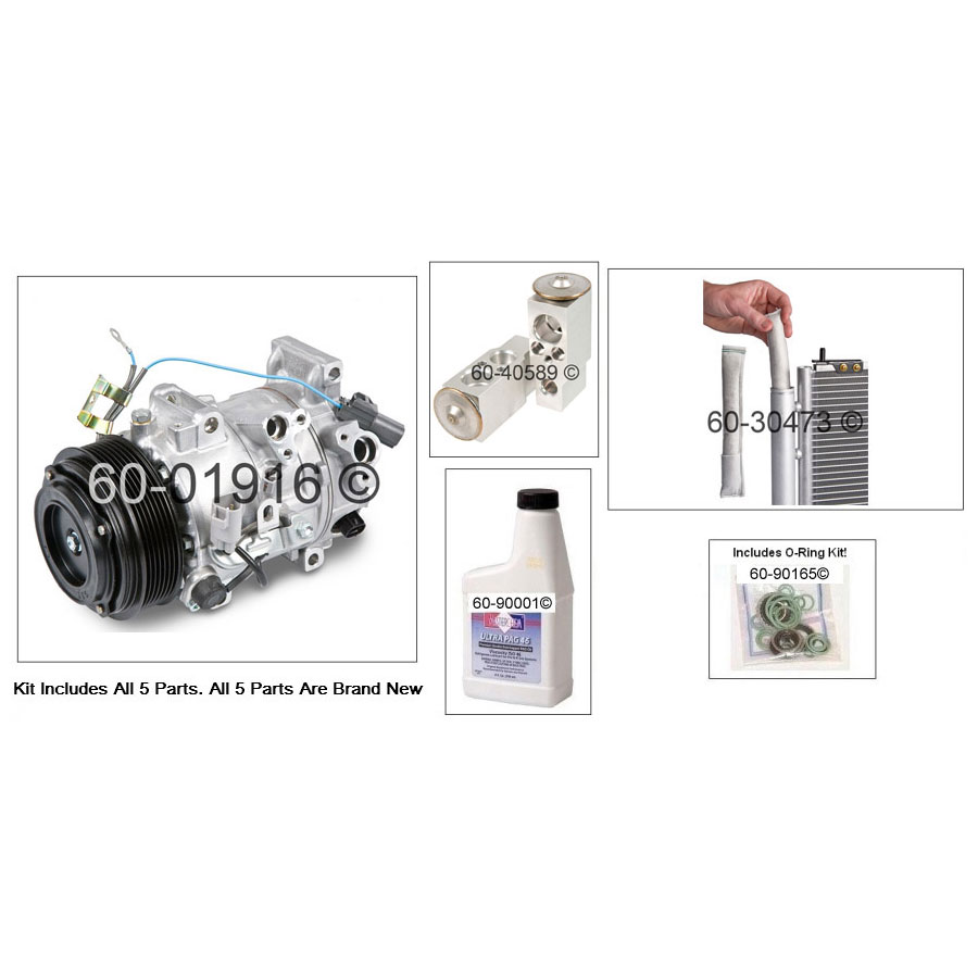 A/C Compressor and Components Kit 60-80496 RN