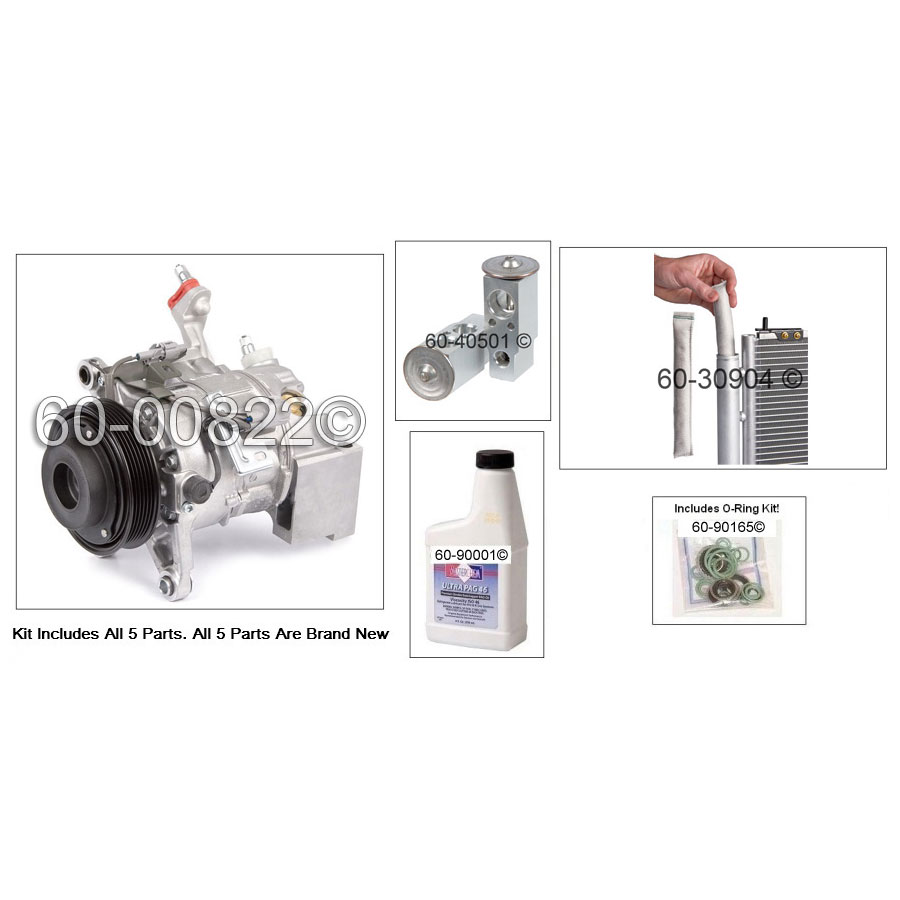Lexus GS300 A/C Compressor and Components Kit