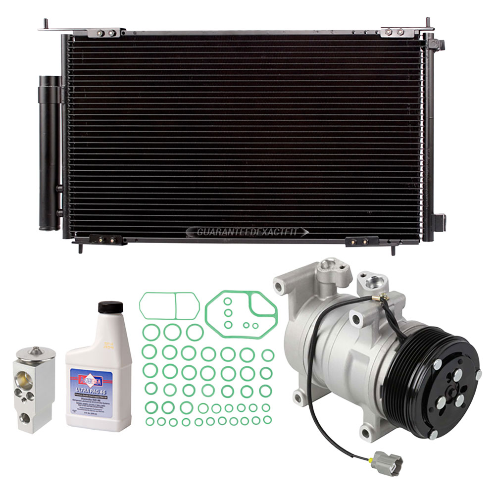 New AC Compressor & Clutch With Complete A/C Repair Kit