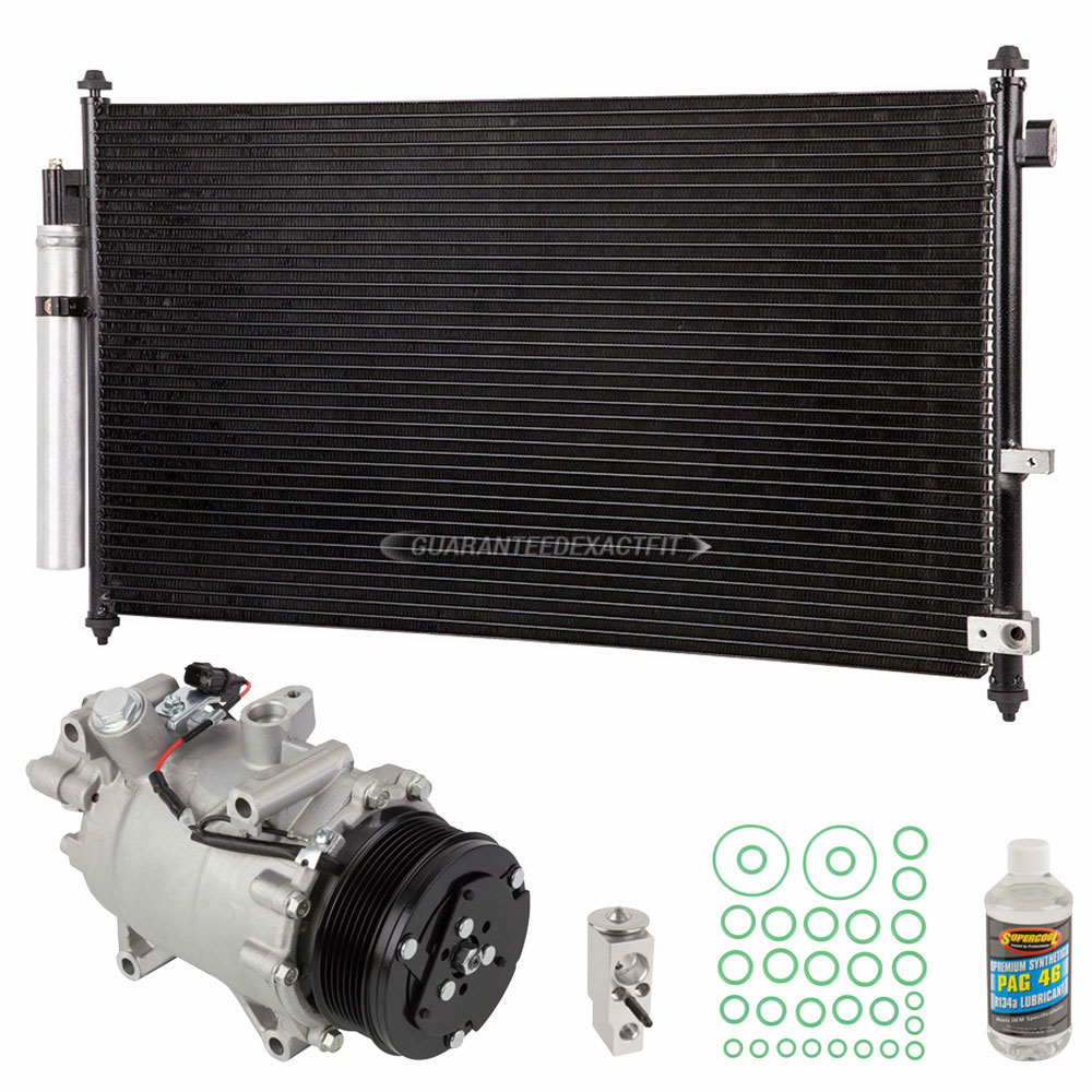Acura RDX A/C Compressor and Components Kit