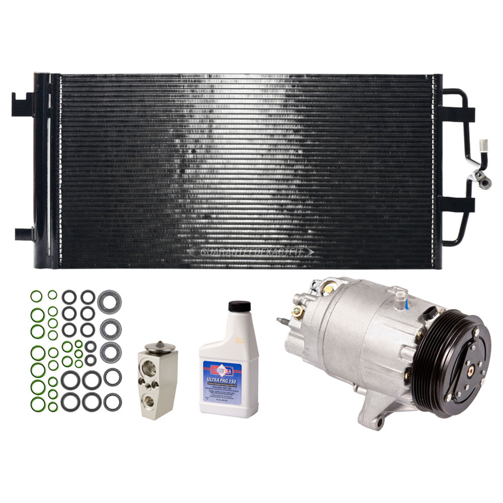 Buick Allure A/C Compressor and Components Kit