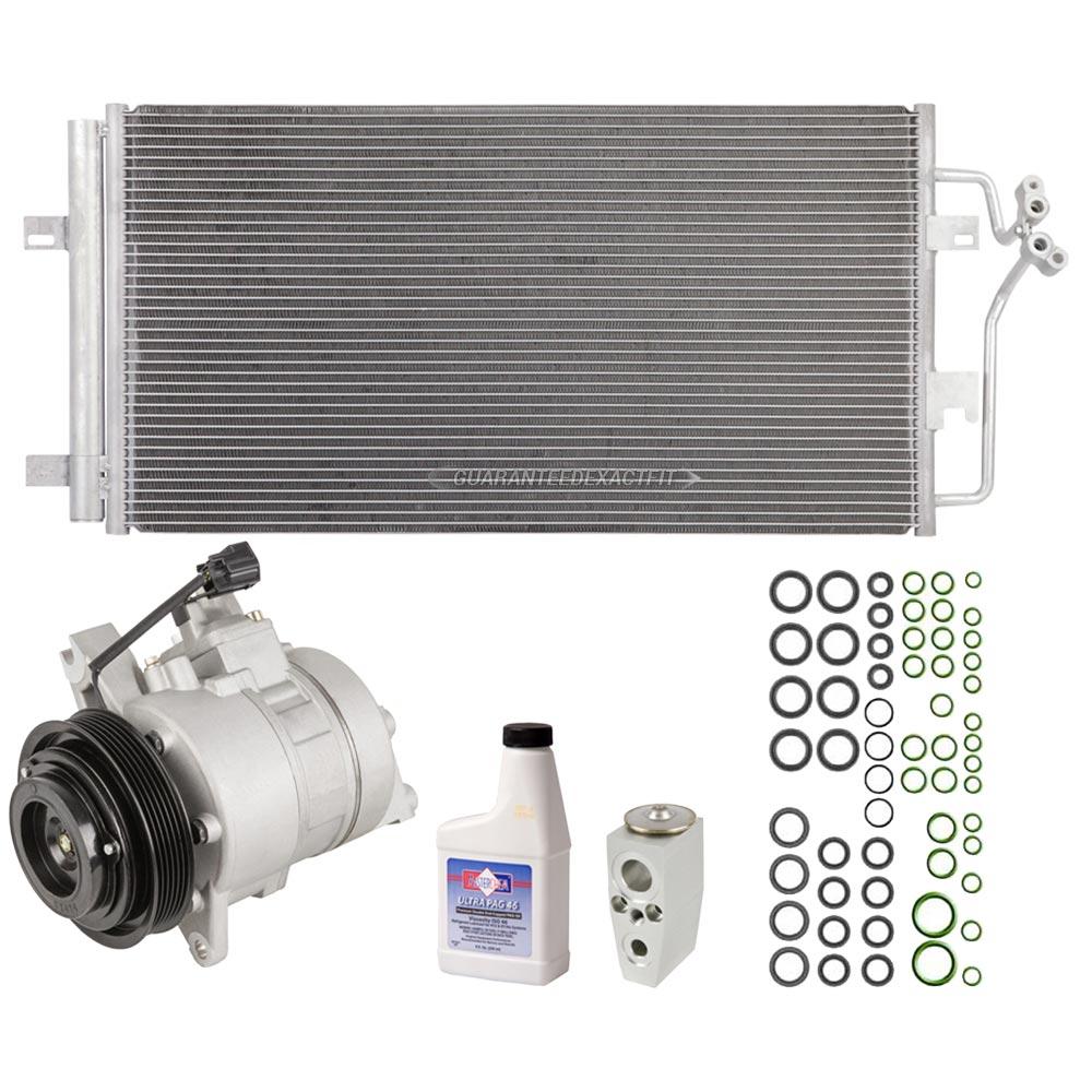2006 Cadillac DTS A/C Compressor And Components Kit 4.6L