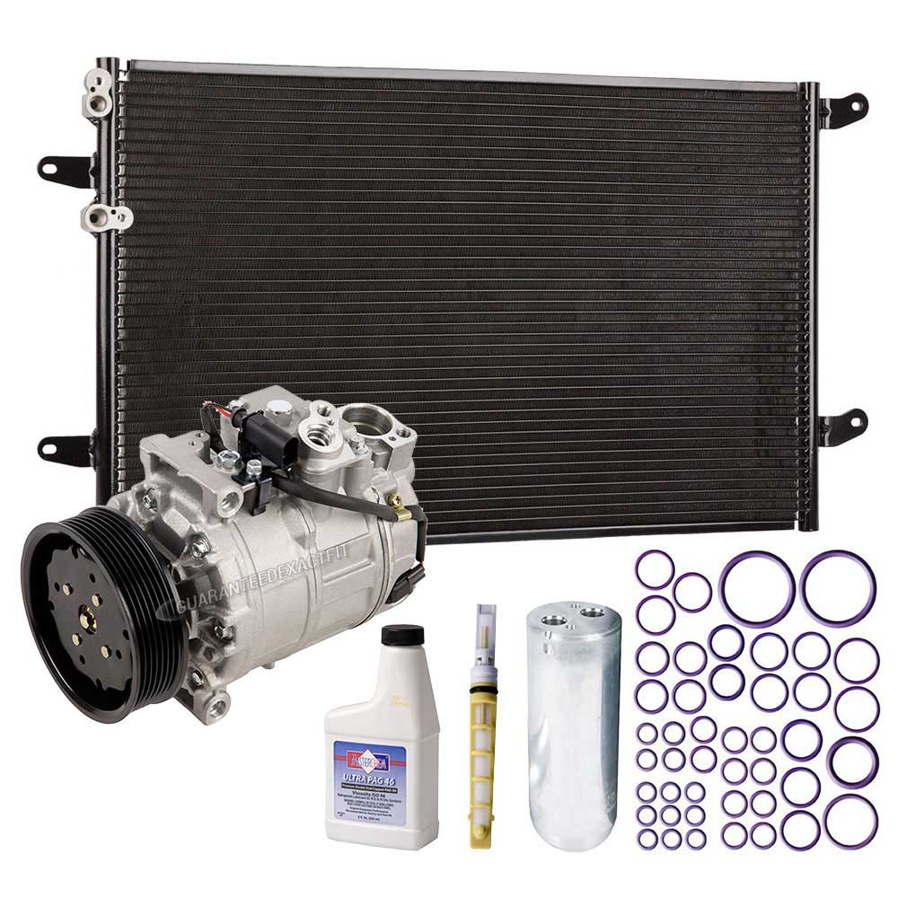 Volkswagen Phaeton A/C Compressor and Components Kit