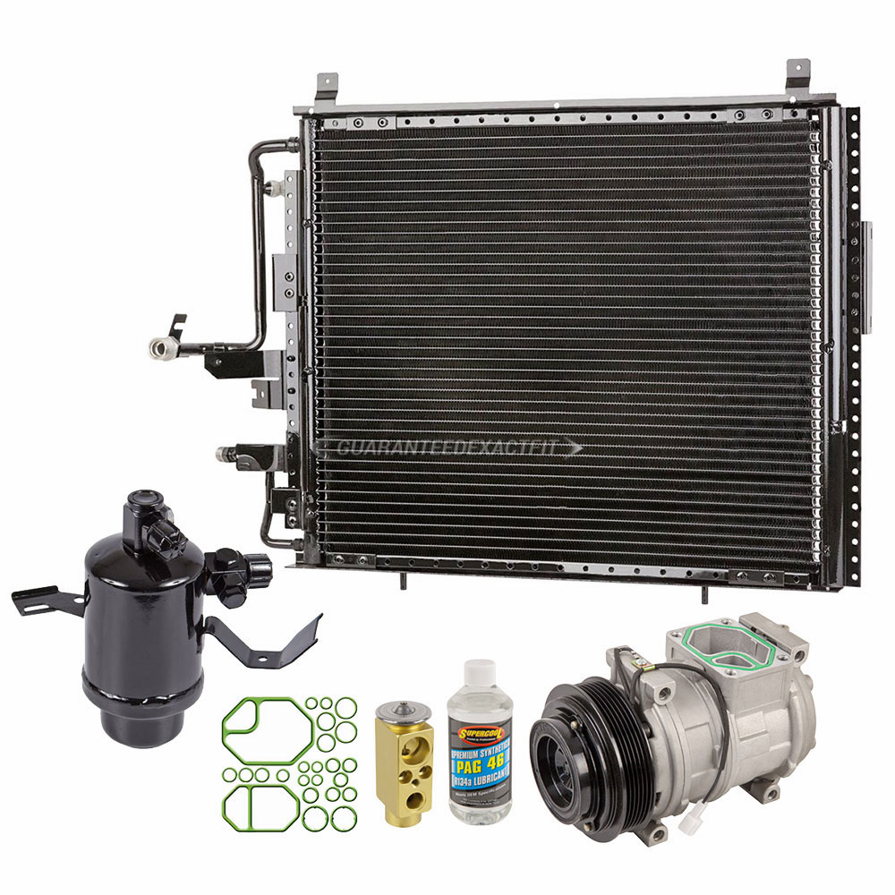 2009 Mercedes Benz E320 A/C Compressor and Components Kit