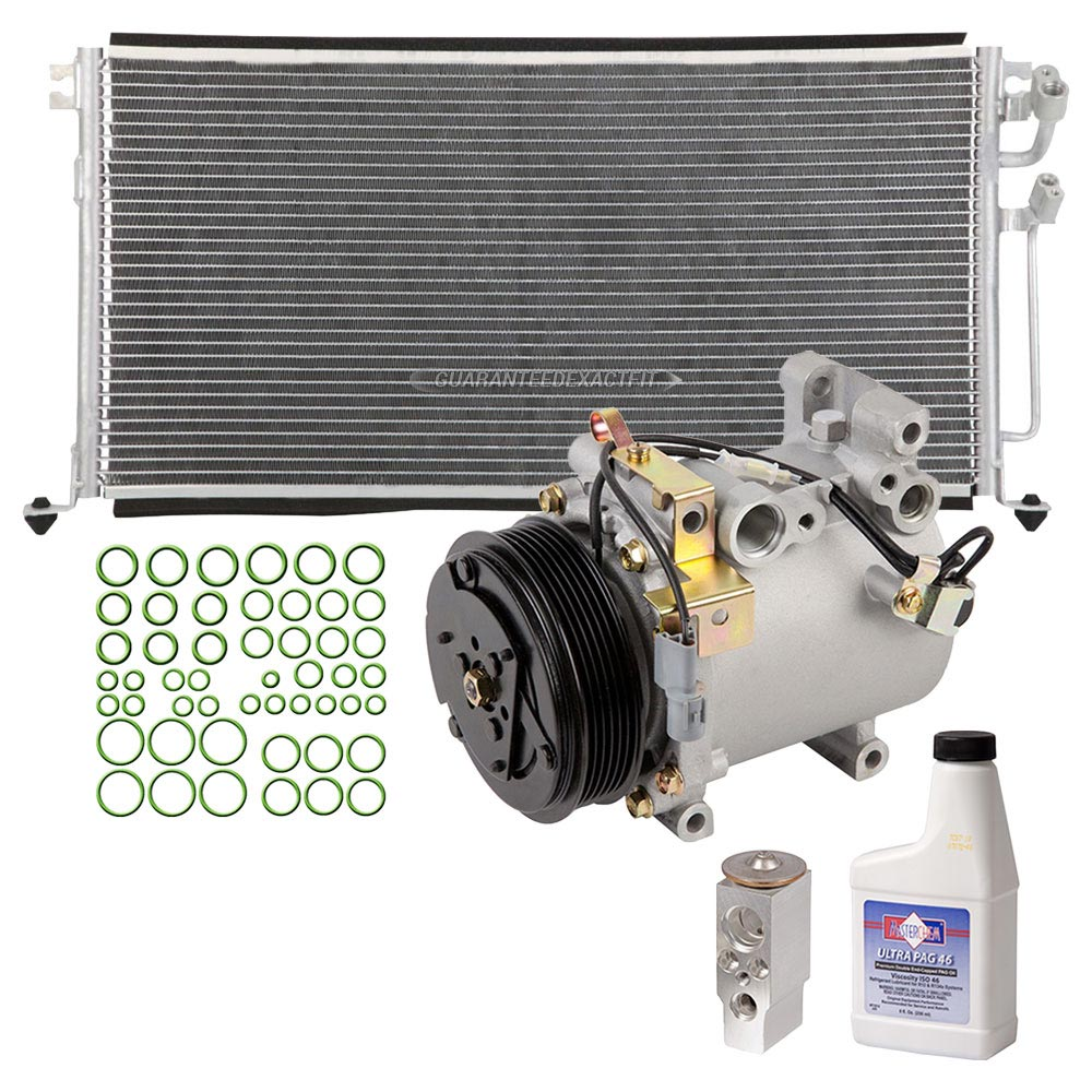 2003 Mitsubishi Lancer A/C Compressor and Components Kit