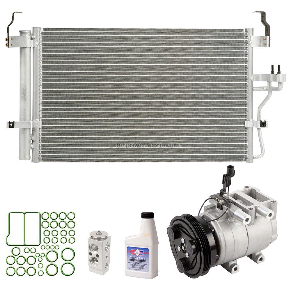 Hyundai Elantra Extended Warranty: 2006 Hyundai Elantra A/C Compressor And Components Kit All