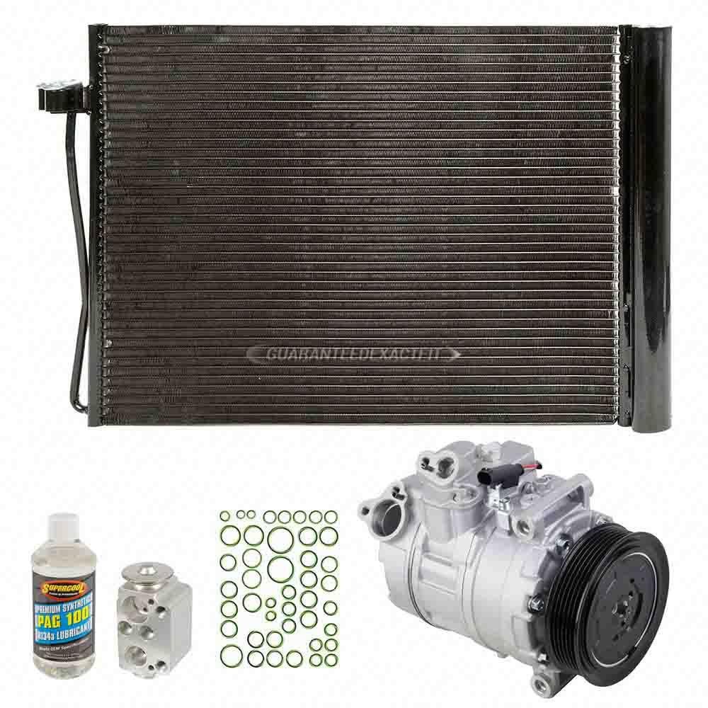For BMW M5 & M6 2008 2009 2010 AC Compressor W/ A/C