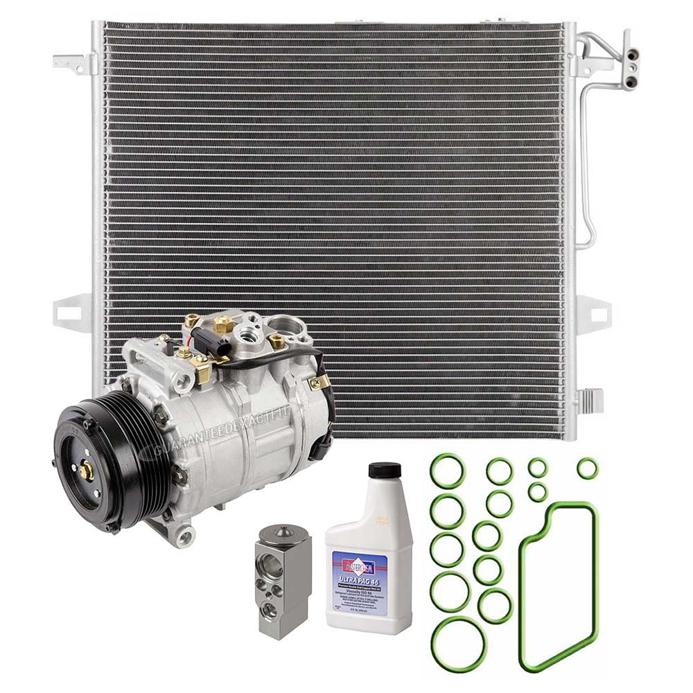 2006 mercedes benz ml500 a c compressor and components kit for Mercedes benz ml500 parts