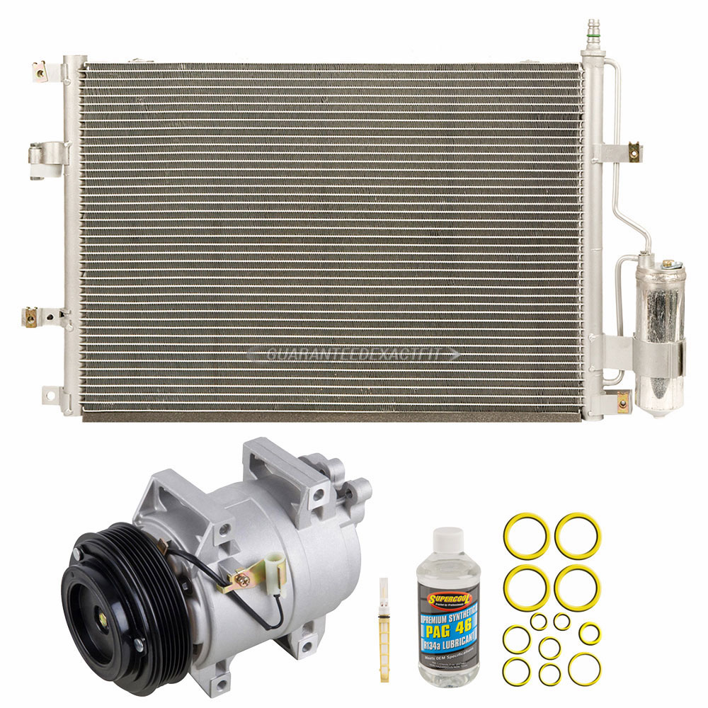 Ac Compressor And Components Kits For Volvo V70 2002 850 A C Kit
