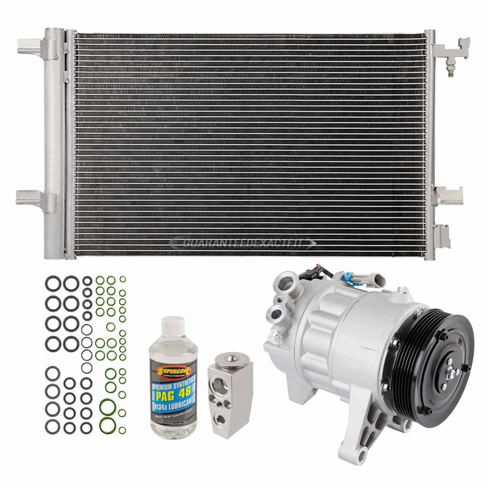 AC Compressor w// A//C Condenser /& Repair Kit For Nissan Altima 2002-2008