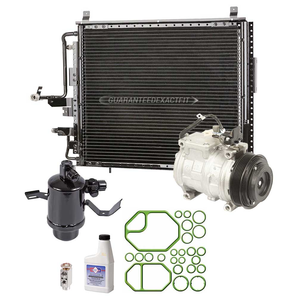 Mercedes_Benz 400E A/C Compressor and Components Kit