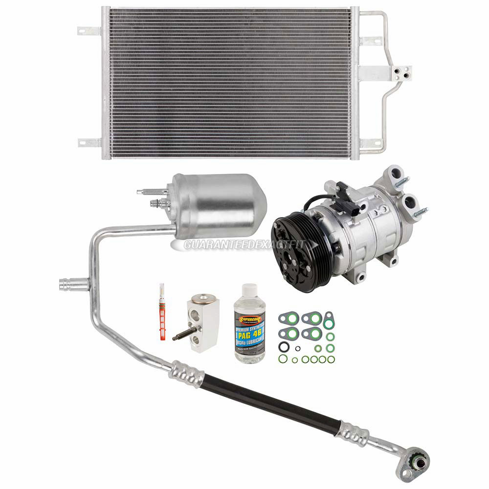 For Mazda Tribute 2.3L Ford Escape AC A//C Repair Kit W// OEM Comressor /& Clutch