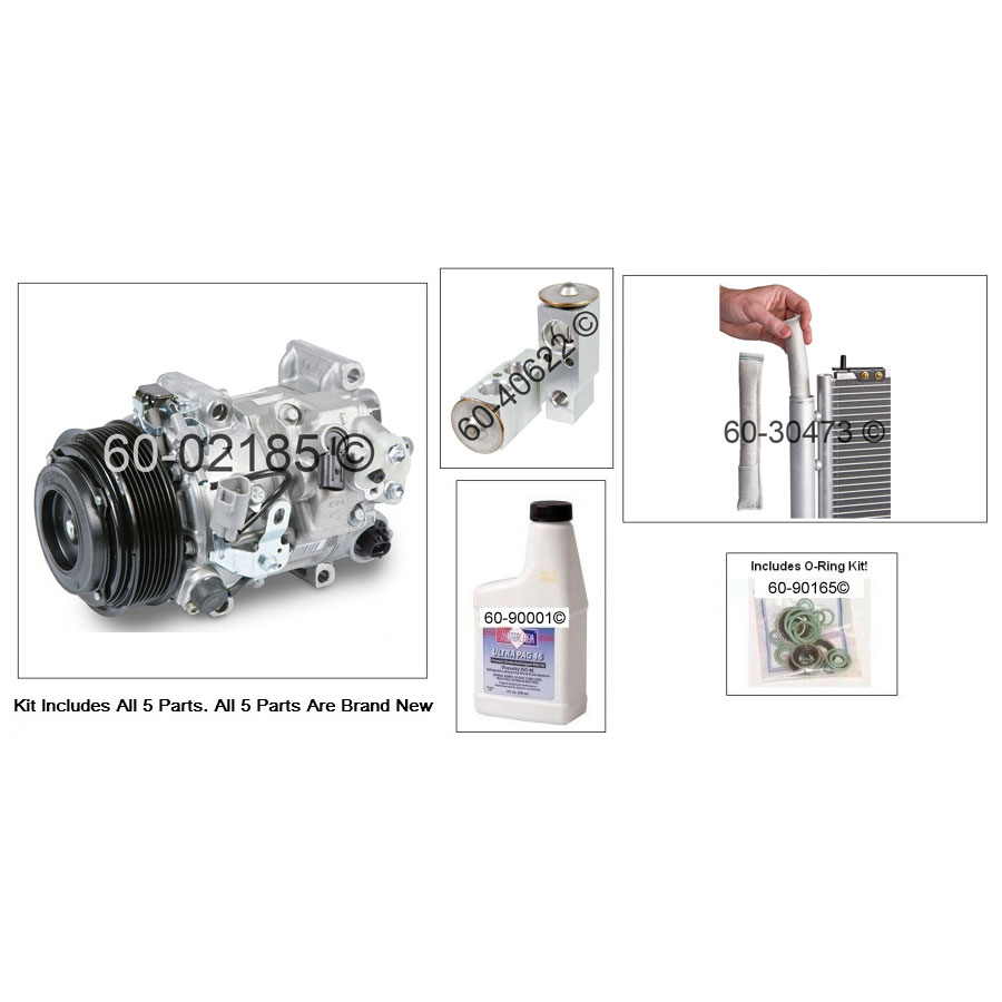 A/C Compressor and Components Kit 60-81121 RN