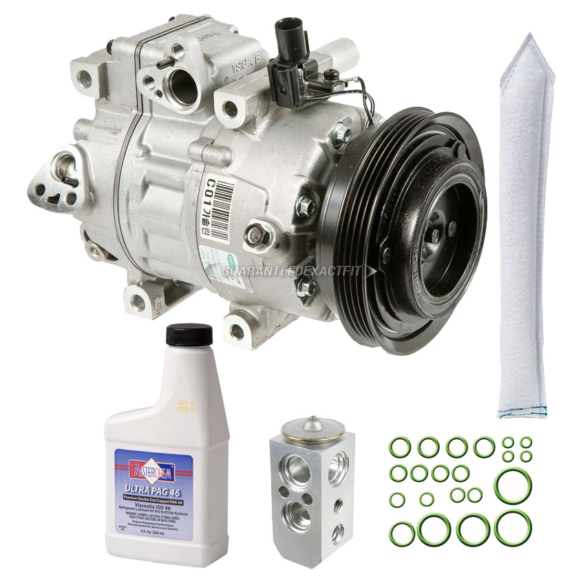 2006 Hyundai Accent A/C Compressor and Components Kit