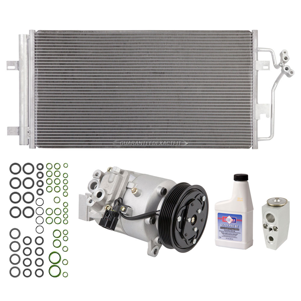 Buick Lucerne A/C Compressor and Components Kit
