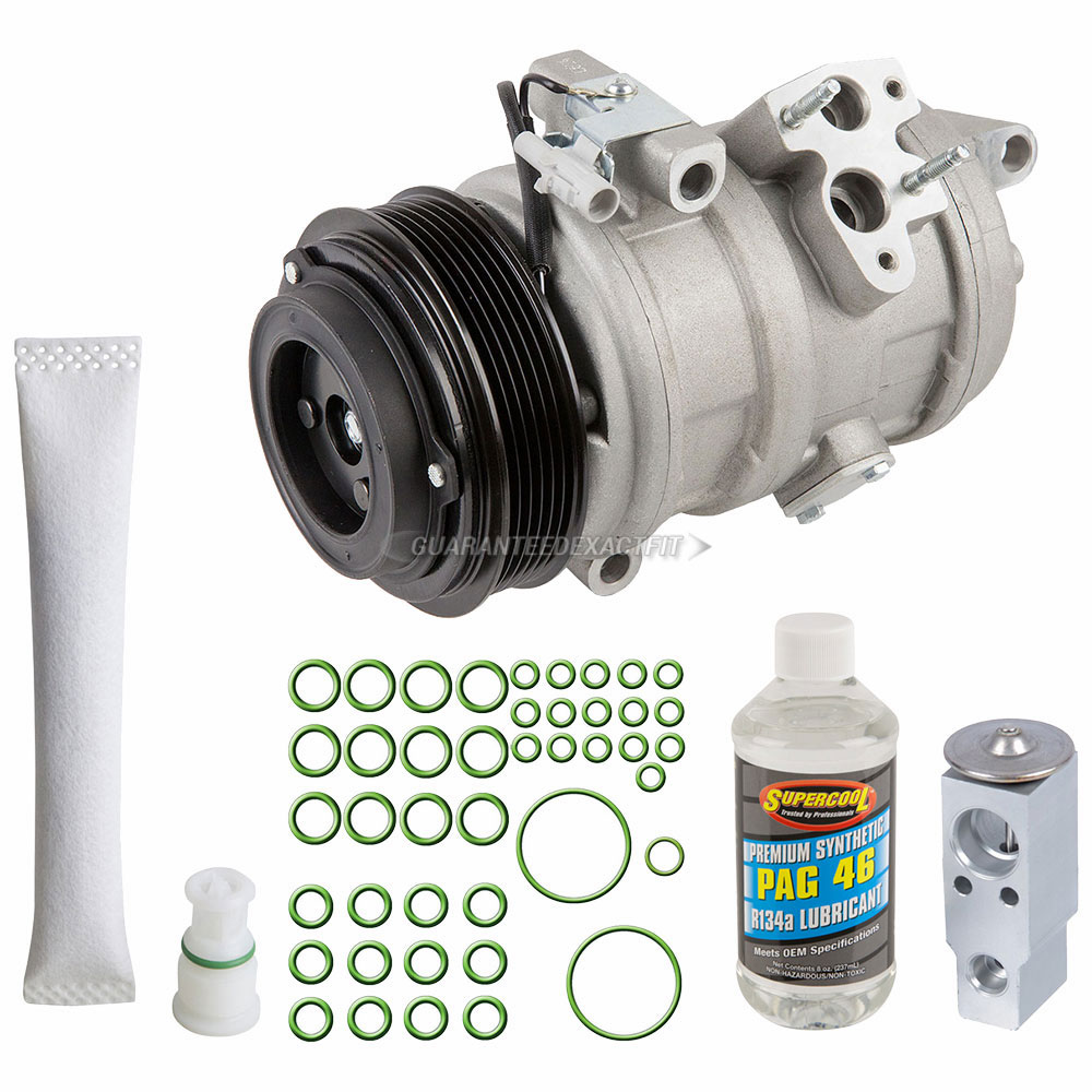 Lexus GX470 AC Compressor and Components Kit - OEM