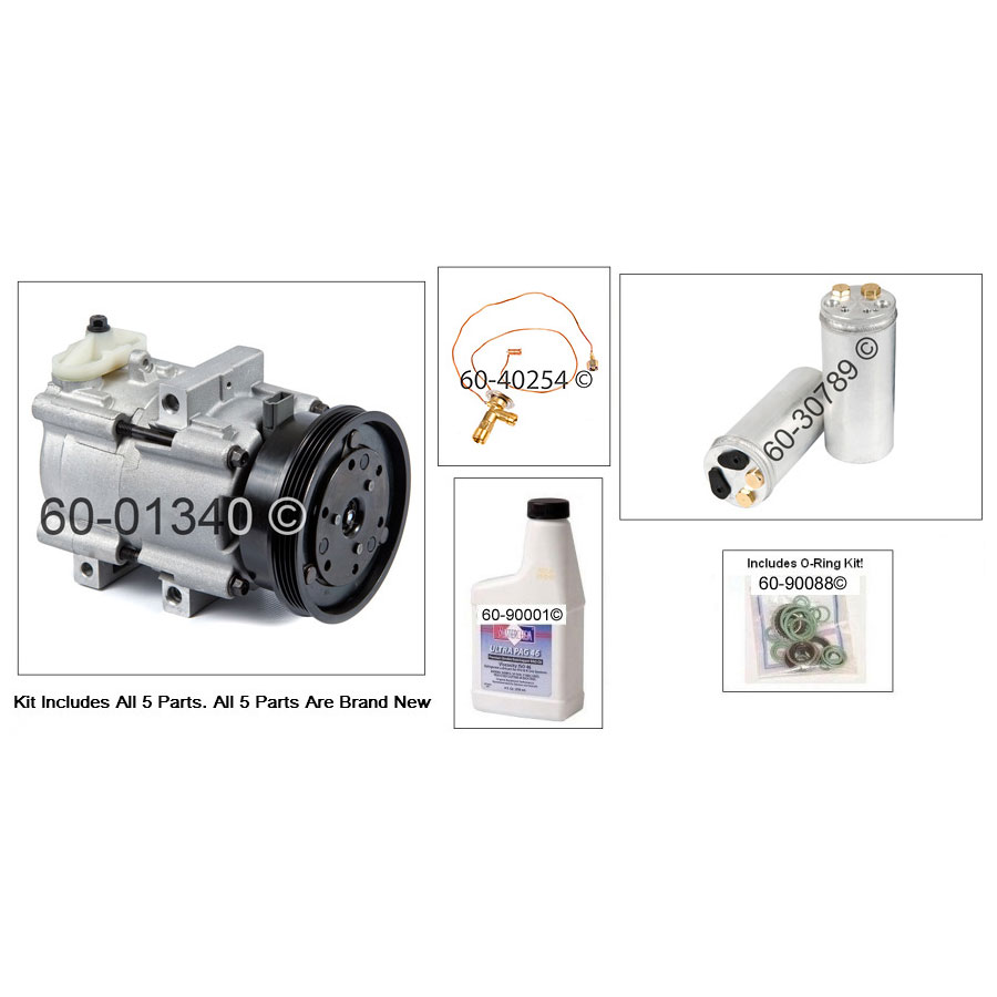 A/C Compressor and Components Kit 60-81145 RK