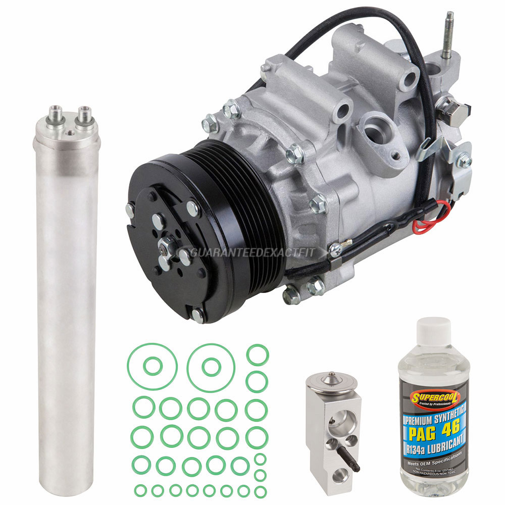 2007 Honda Civic A/C Compressor and Components Kit 1.8L ...