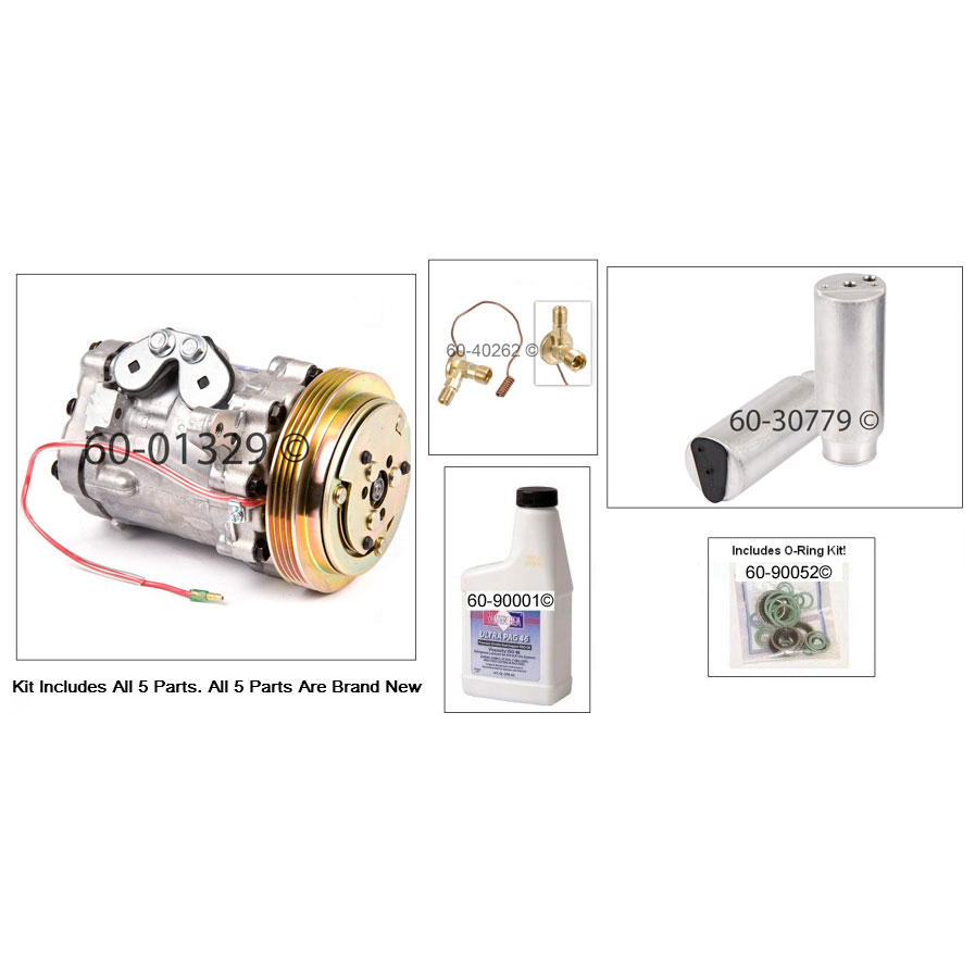 A/C Compressor and Components Kit 60-81197 RK