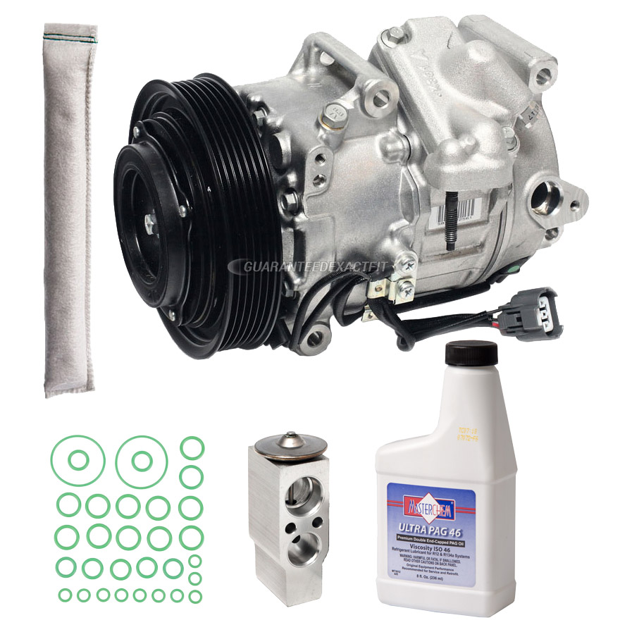 Acura RL AC Compressor And Components Kit Parts, View