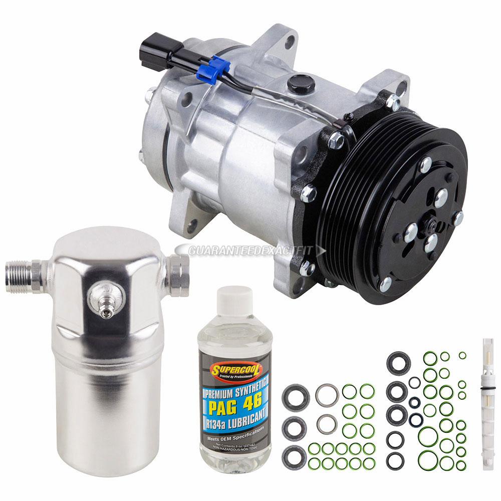 C6500 AC Compressor w// Clutch for Chevy C8500 Topkick C7500 Kodiak GMC QR
