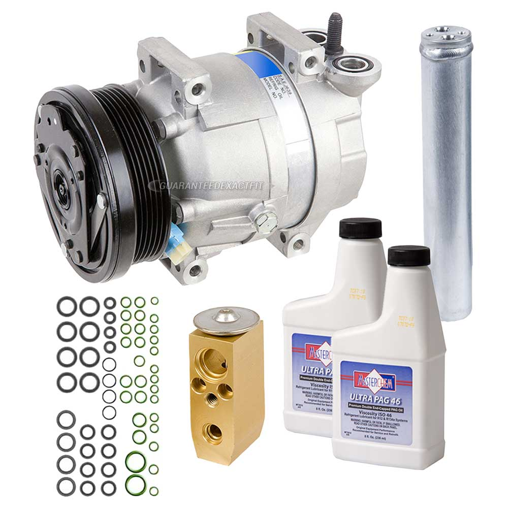 2005 Chevrolet Aveo A/C Compressor and Components Kit
