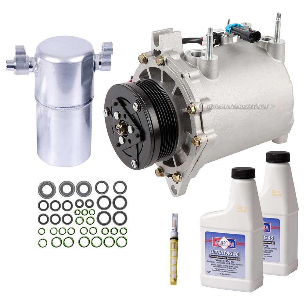 2004 Pontiac Bonneville Camshaft: 2004 Pontiac Bonneville A/C Compressor And Components Kit