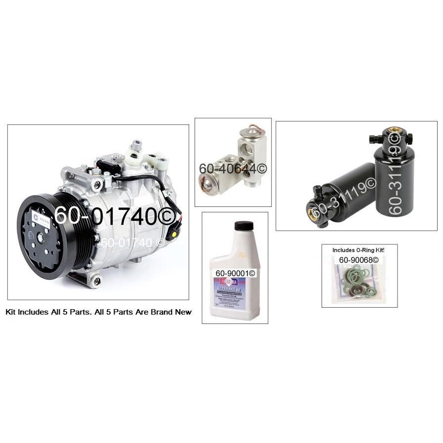 Mercedes Benz G500 A/C Compressor and Components Kit