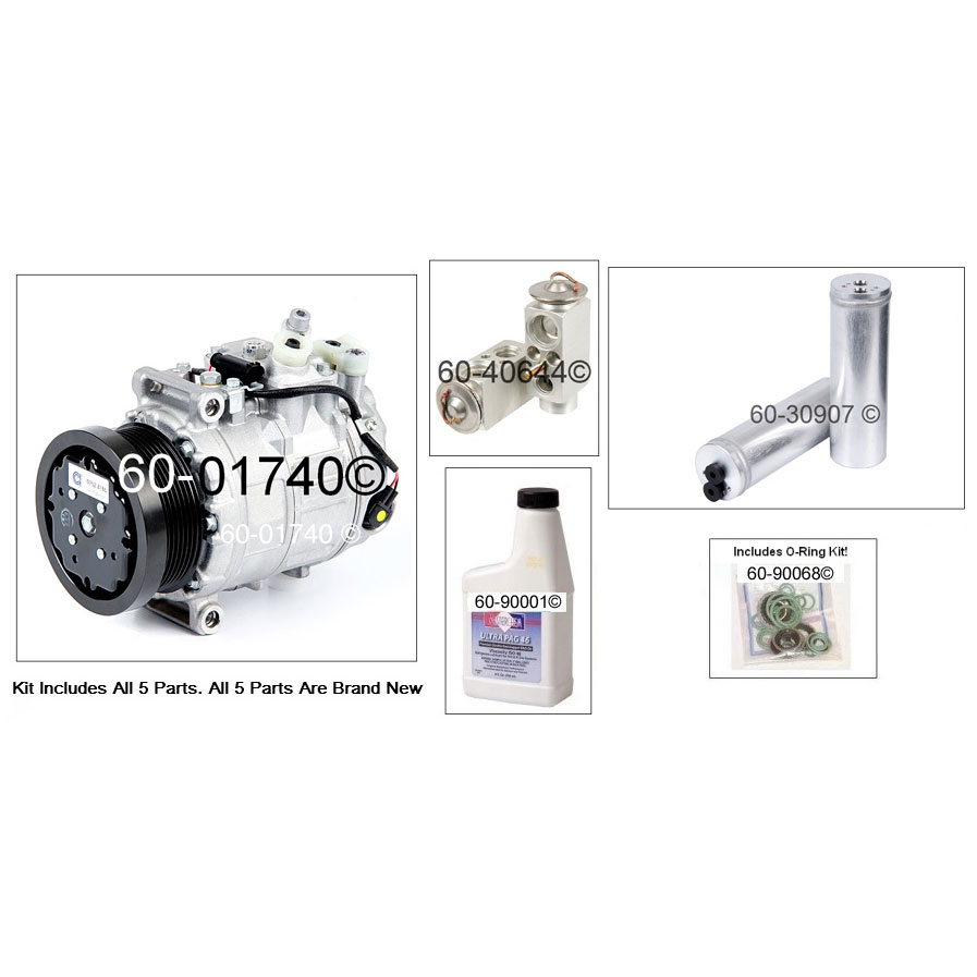 Mercedes_Benz CL65 AMG A/C Compressor and Components Kit