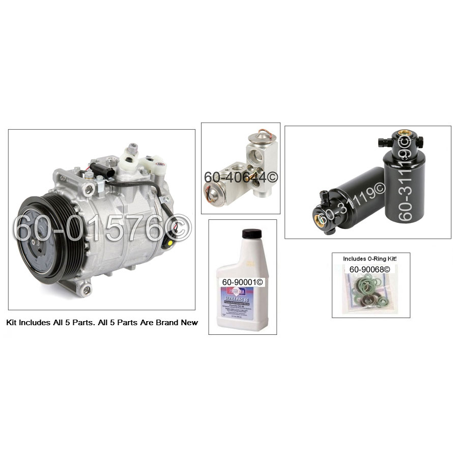 A/C Compressor and Components Kit 60-81250 RK