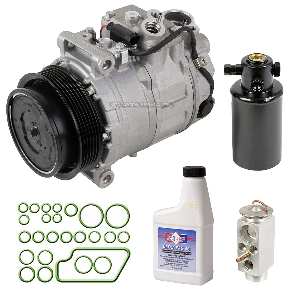2008 Mercedes Benz G55 AMG A/C Compressor and Components Kit
