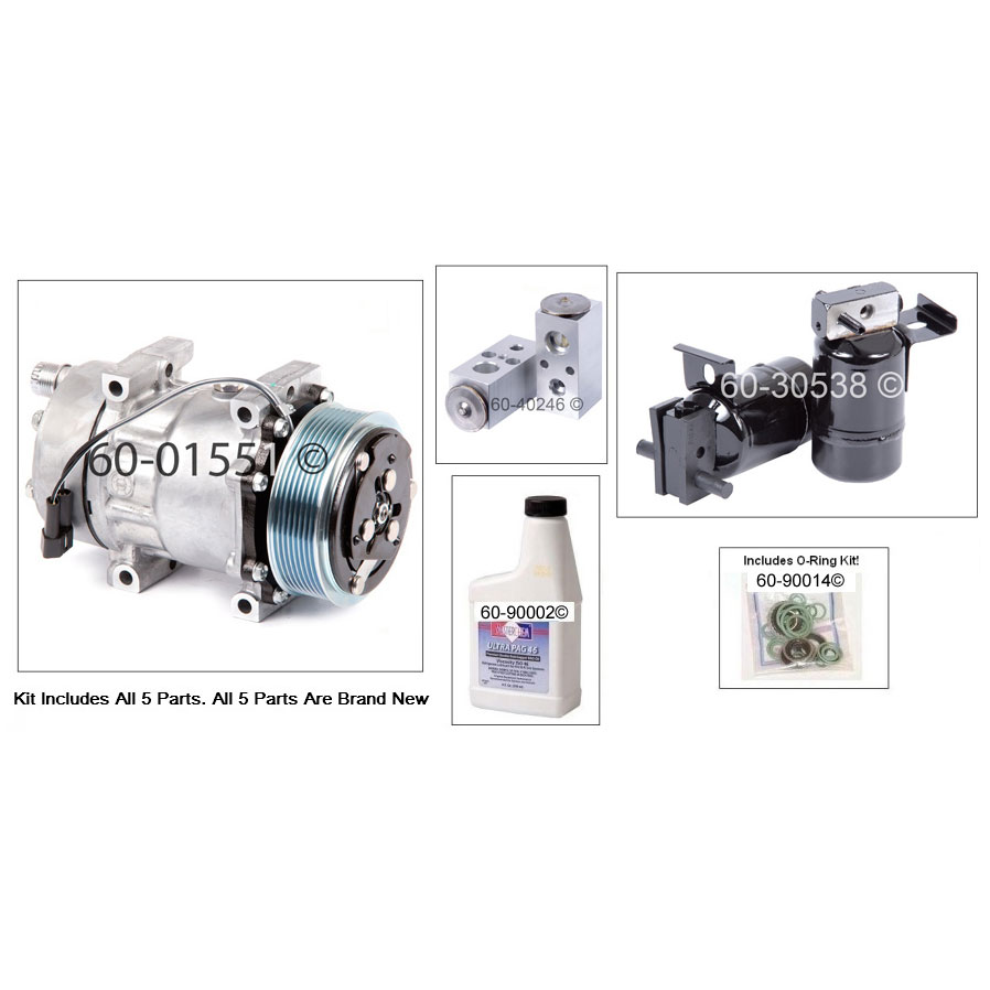 Dodge Ramcharger A/C Compressor and Components Kit