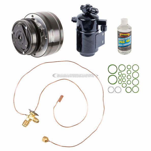 Mercedes Benz 300SD A/C Compressor and Components Kit