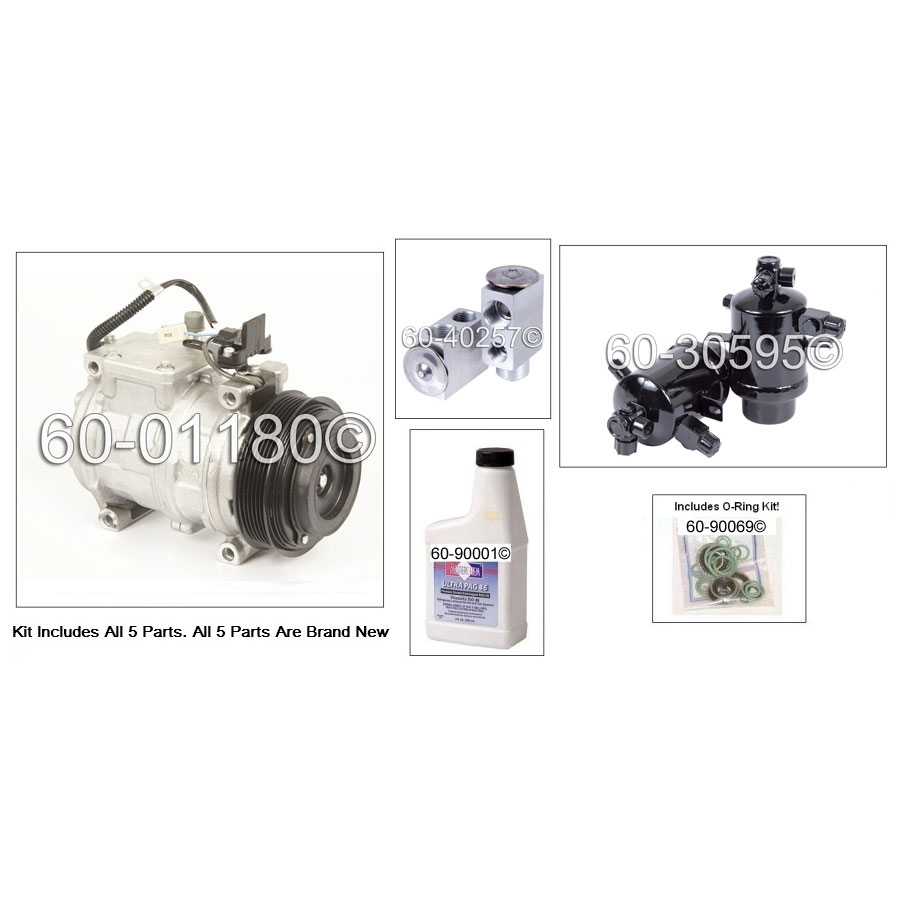Mercedes_Benz 300SEL A/C Compressor and Components Kit