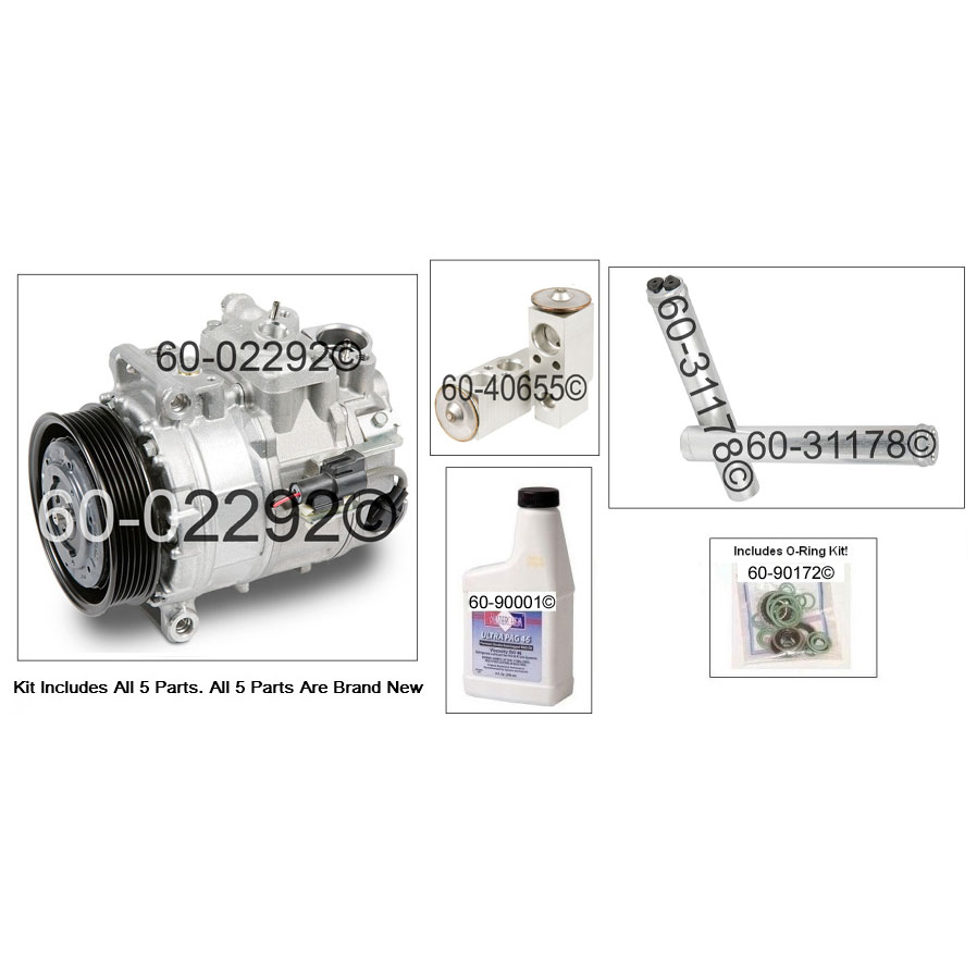Land_Rover LR3 A/C Compressor and Components Kit