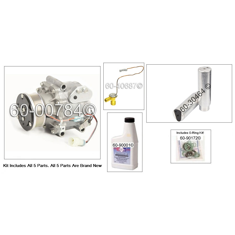 A/C Compressor and Components Kit 60-81305 RK